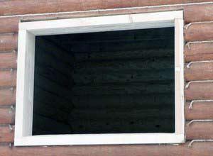 фото Обсада в деревянном доме технологии строительства