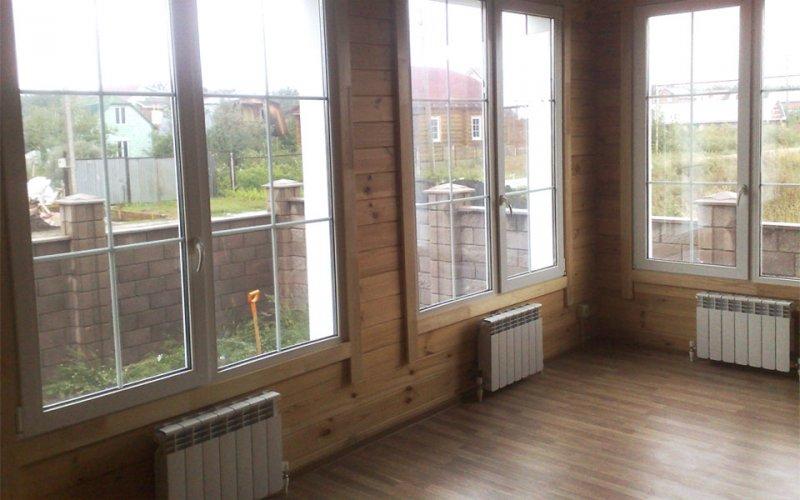Фото: отопление деревянного дома своими руками