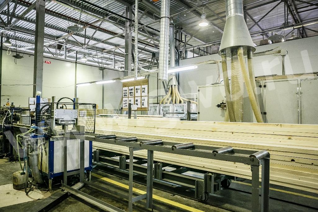 Фото: Станок для производства профилированного бруса