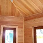 Фото: Внутренняя отделка дома имитацией бруса №5