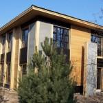Фото: Дом отделанный имитацие бруса №4