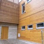 Фото: Дом отделанный имитацие бруса №3