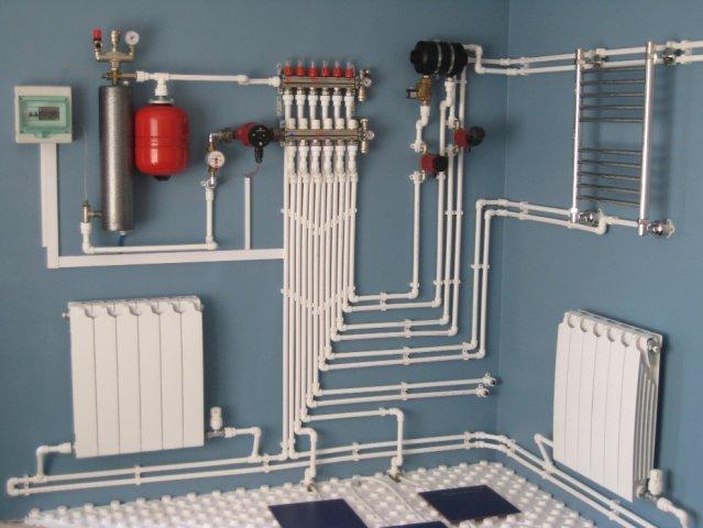 фото: электрические котлы отопления индукционные