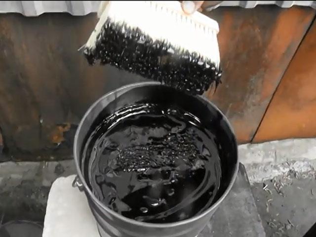 фото: гидроизоляция обмазочная битумная