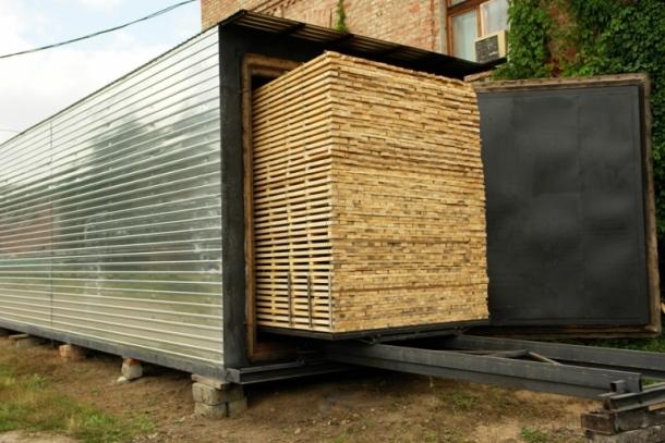 фото:сушильные камеры для древесины